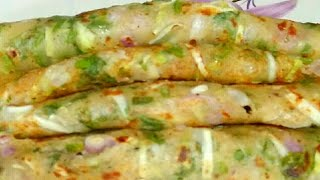 Morning Breakfast Recipe With Few Drop off Oil And Lots Of Veggies || Breakfast Recipe in Hindi