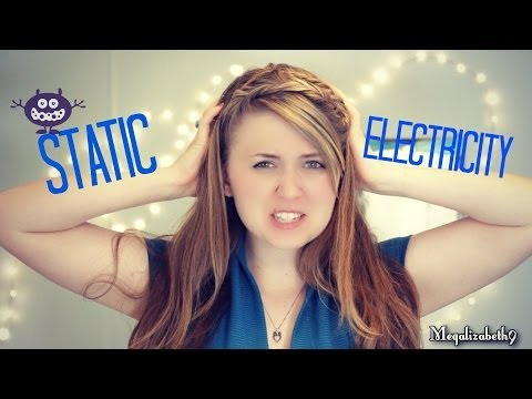 How To Fix Static In Hair With a Dryer Sheet or Leave-in Conditioner [QTT]