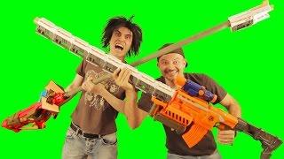 BIG ASS NERF GUNS!! Remix