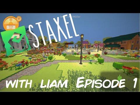 Staxel Taking Ownership Of My Farm! Episode 1
