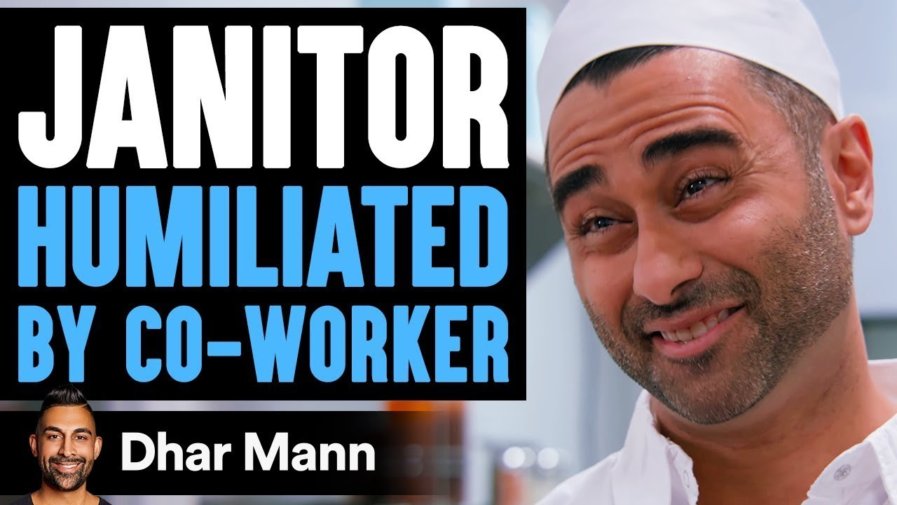 Janitor HUMILIATED By Co-Worker, Lives To Regret It | Dhar Mann