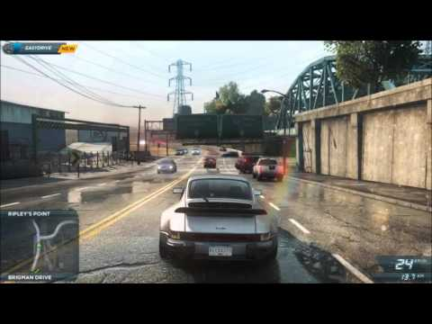 Need For Speed Most Wanted 2012 - Porsche 911 (930) Turbo [Test drive]