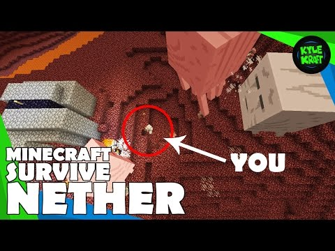 How To Survive the Nether in Minecraft! (My Tips and Tricks to Survive the Nether)