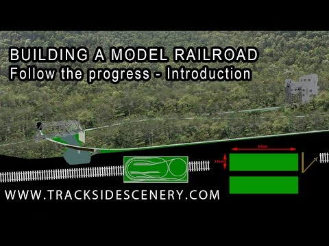 BUILDING A MODEL RAILROAD - New Layout Introduction
