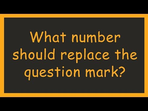 What number should replace the question mark? Try these 5 Math Puzzles
