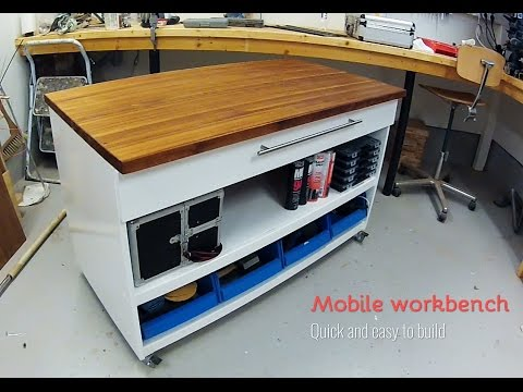 Mobile workbench DIY