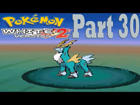 Pokemon White 2 [Part 30] Catching Cobalion!
