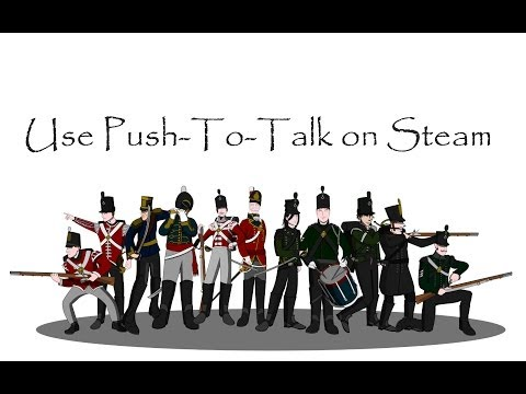 How to: Use Push-to-Talk on Steam