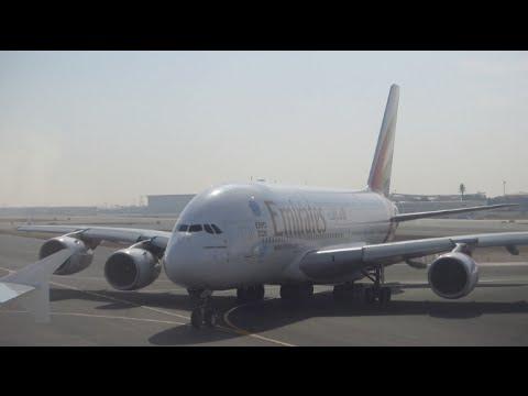 Emirates Airbus A380 /  Dubai to Melbourne / Business Class