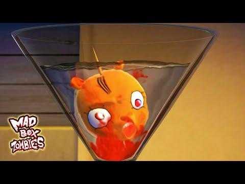 Zombie cartoon movie: Zombie Dry Martini - Mad Box Zombies | EP 94