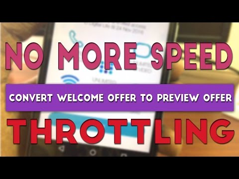 How to convert Jio Welcome Offer To Preview Offer