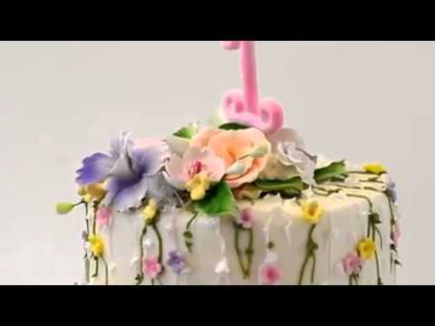How to make cake Two Tier Cake for one year old baby