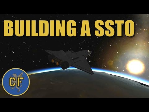 Kerbal Space Program - Let's build a satellite carrying SSTO