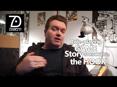 The Hook - RPG Story telling - How to write a great RPG storyline