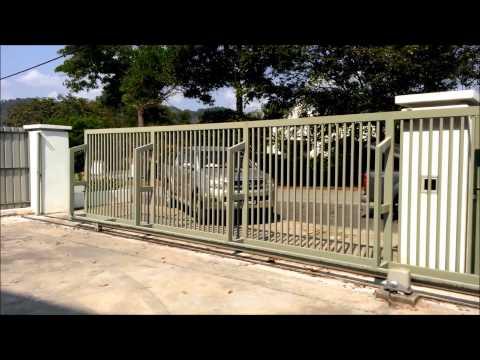 Ahouse SD - Heavy duty DC sliding gate system