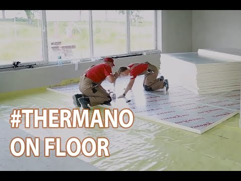 How to install Thermano insulation boards on floors