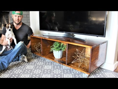 The TV Storage Cart - Easy DIY Project