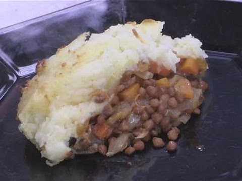 How to cook a vegetarian shepherds pie