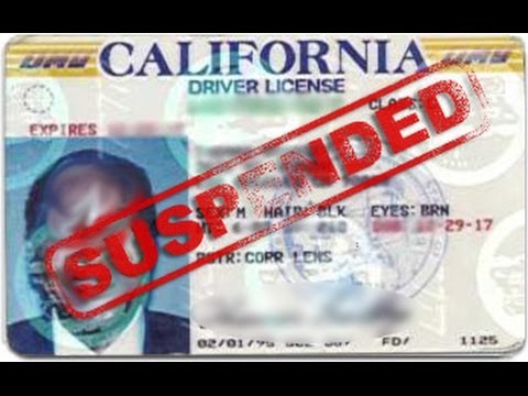 How long is the license suspension for a 1st time DUI?