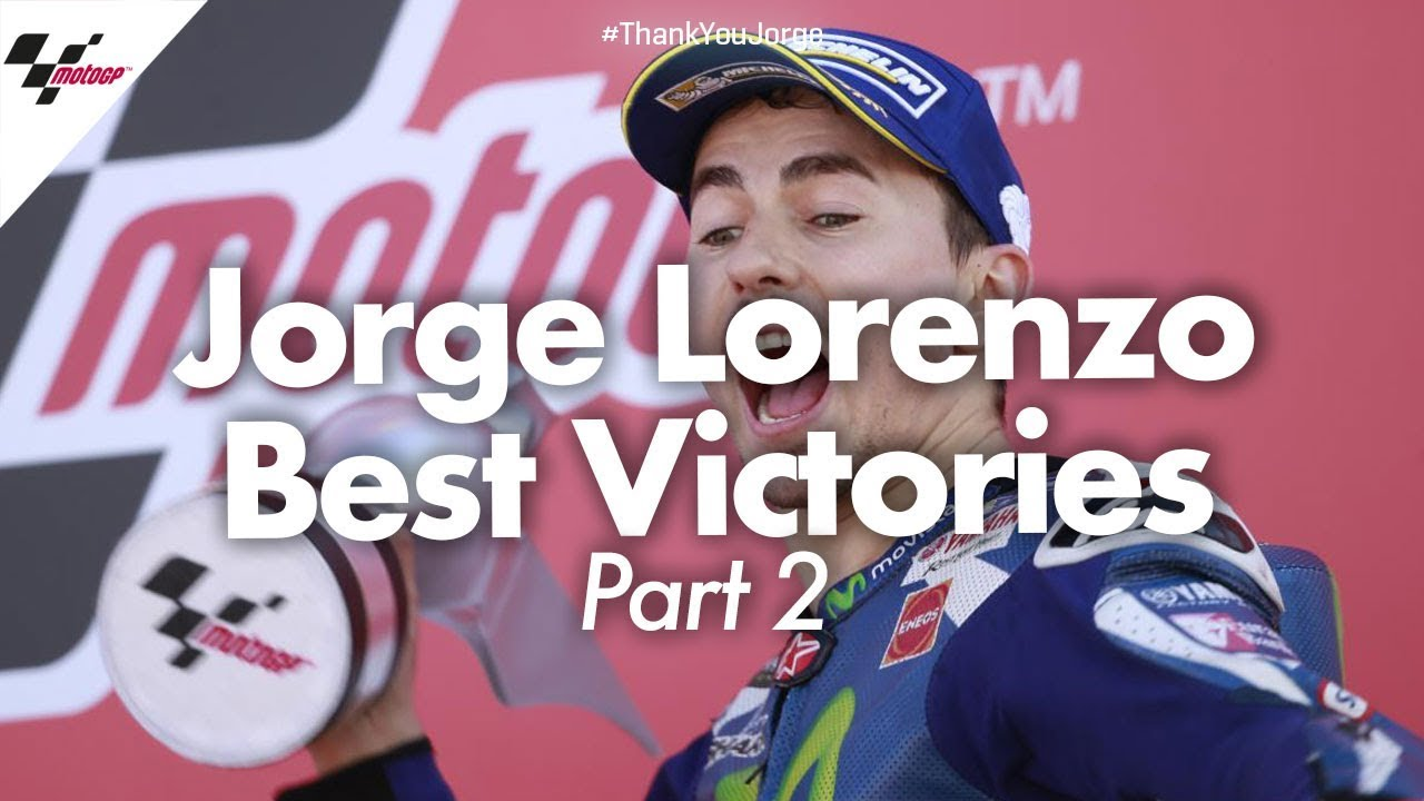 Best victories from Jorge Lorenzo's career!   PART TWO #ThankYouJorge