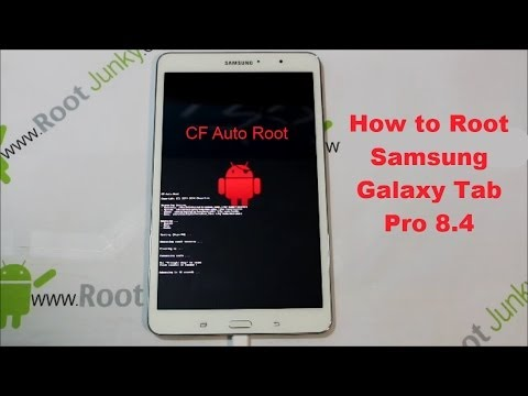 How to ROOT the Samsung Galaxy Tab Pro 8.4 Tablet