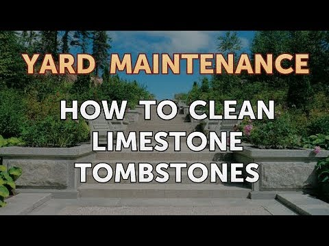 How to Clean Limestone Tombstones