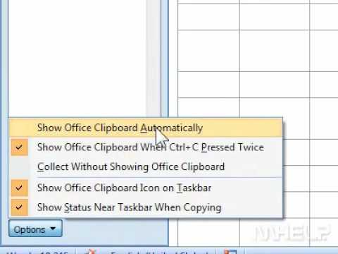 How to turn off showing the Office clipboard automatically in Word