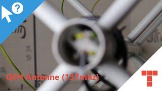 En Subs Qfh Antenne Bauen 137mhz  Tutorial