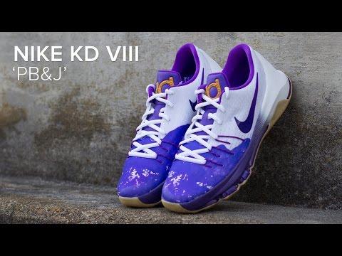 Nike KD 8 'PB&J' Quick Review