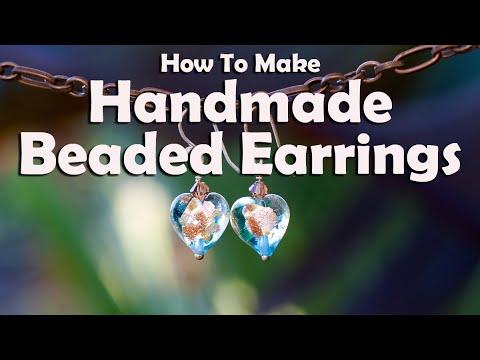 How To Make Jewelry: How To Make Handmade Beaded Earrings