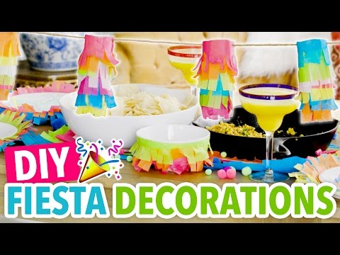 DIY Mini Pinatas & Tissue Paper Fiesta Decorations ~ Cinco De Mayo - HGTV Handmade