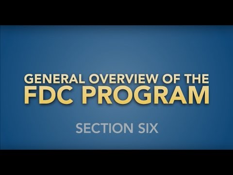 The FDC Program   Section 6: Things to Know Before You File an eClaim/FDC