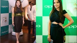 Armeena Khan Spotted at Oppo Lunch Even.
