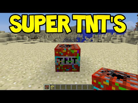 Minecraft Unlikely Features - SUPER TNT BLOCKS ?