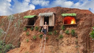Download Build Undergroud Hut System On The Cliff To Avoid Wildlife Video