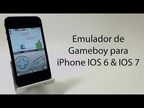 Emulador GBA para iPhone y iPod touch IOS 6 & IOS 7 NO JAILBREAK