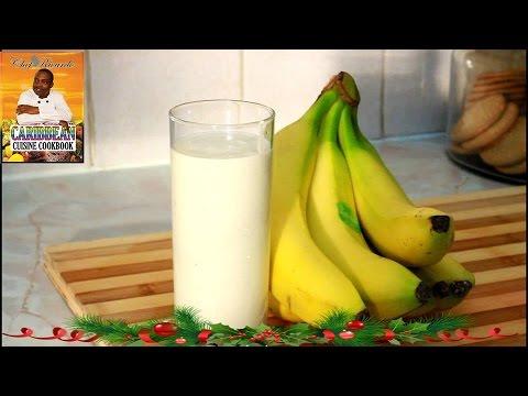 Natural  Yogurt and banana smoothie recipe