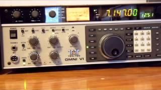 New TEN-TEC QRP ARGO 6 heard (with Morse code annotations