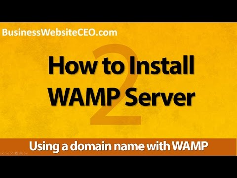 WAMP Server for Windows #2 - Using a domain name with WAMP