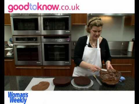 How to make Chocolate ruffle cake