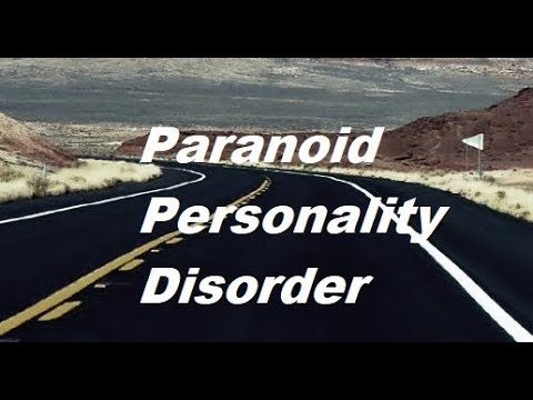Definition of Paranoid Personality Disorder - Cluster A DSM 5