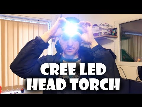 CREE LED Head Torch Review