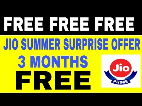 RELIANCE JOI PRIME LAUNCH SUMMER SURPRISE OFFER | Free Unlimited 4G Data Till 31 JULY 2017