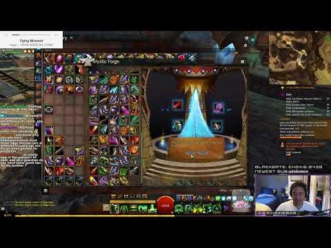 GW2 Choxie Mystic Forges a couple Precursors