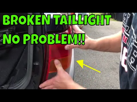How To Replace The Taillight on a 99-04 Grand Cherokee