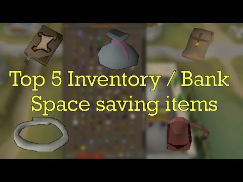 5 items that will help you save Inventory/Bank space and how to obtain them - OSRS