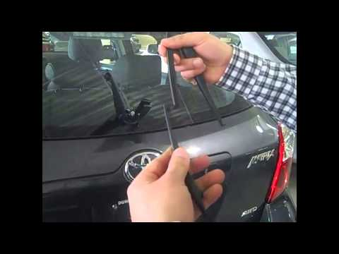 How to Install Rear Wiper Inserts