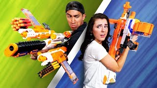 NERF Build Your Weapon | Mystery Swap Edition!