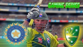 """GAMING SERIES"" INDIA TOUR OF AUSTRALIA 2016 - 4TH ODI"