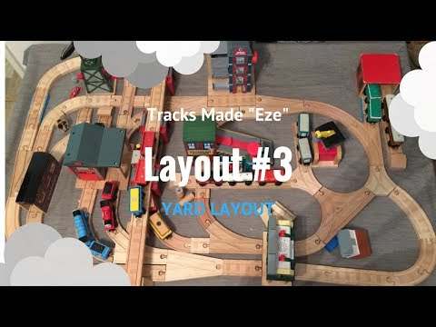 Let's Build Layout: YARD LAYOUT |Wooden Railway|